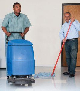 Commercial cleaning in New York City by SanMar.