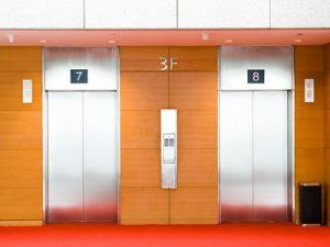 Elevator cleaning is an important part of our daily building cleaning service in Midtown