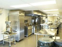 A bakery kitchen and food packaging plant.